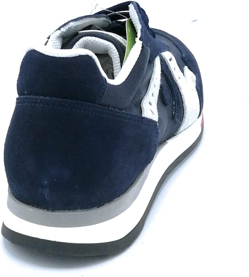 Taglia Scarpa 43 Colore Blu Trackstone T00506 Sneaker Lacci camoscio-Tela Blu