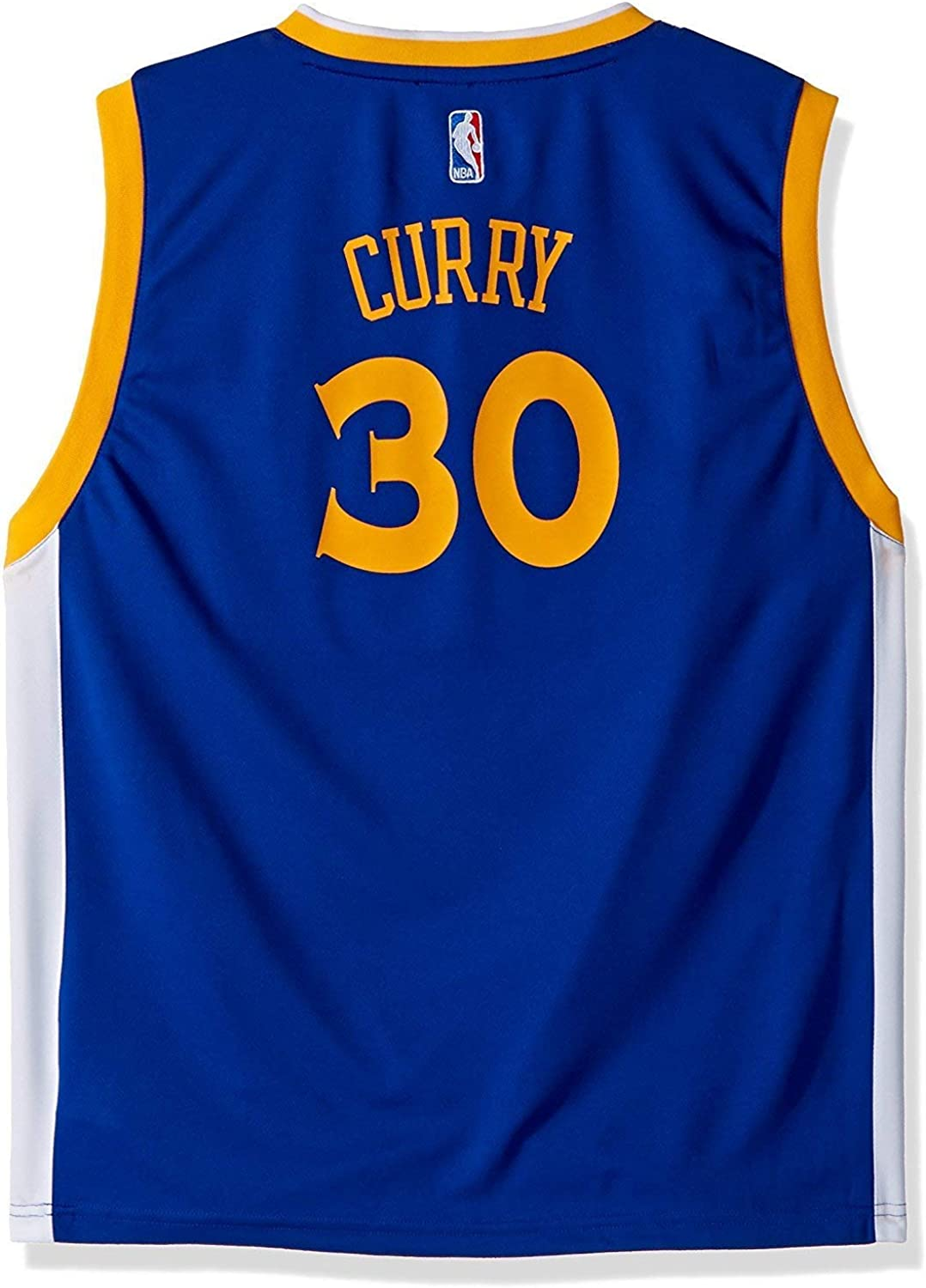 Stephen Curry Golden State Warriors #30 Blue Youth Road Replica Jersey
