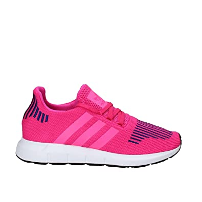11d9edbbad5 adidas Originals Girl s Swift Run Trainers US5 Pink