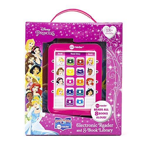 Disney Princess - Me Reader Electronic Reader and 8 Sound Book Library - PI -