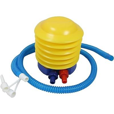 ObboMed® PP-1010 Bomba de pie de Fuelles de plástico - Deportes Inflable y desinflable, Yoga Gimnasio Ejercicio balón de Mano Bomba