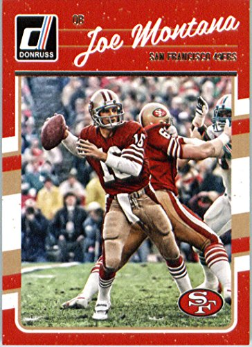 2016 Donruss #262 Joe Montana San Francisco 49ers Football Card ()