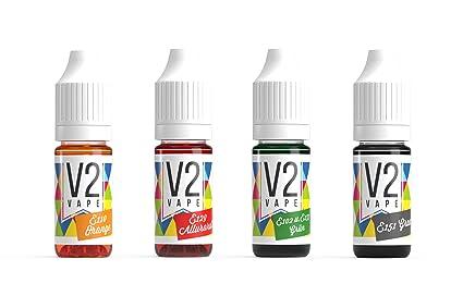 V2 Colorante alimentario de Vaina Extremadamente Concentrado, líquido para Colorear Bebidas, masas, coberturas