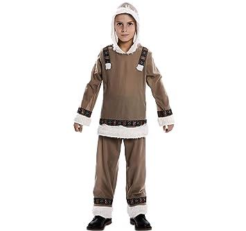 EUROCARNAVALES Disfraz de Esquimal para niño: Amazon.es: Juguetes ...