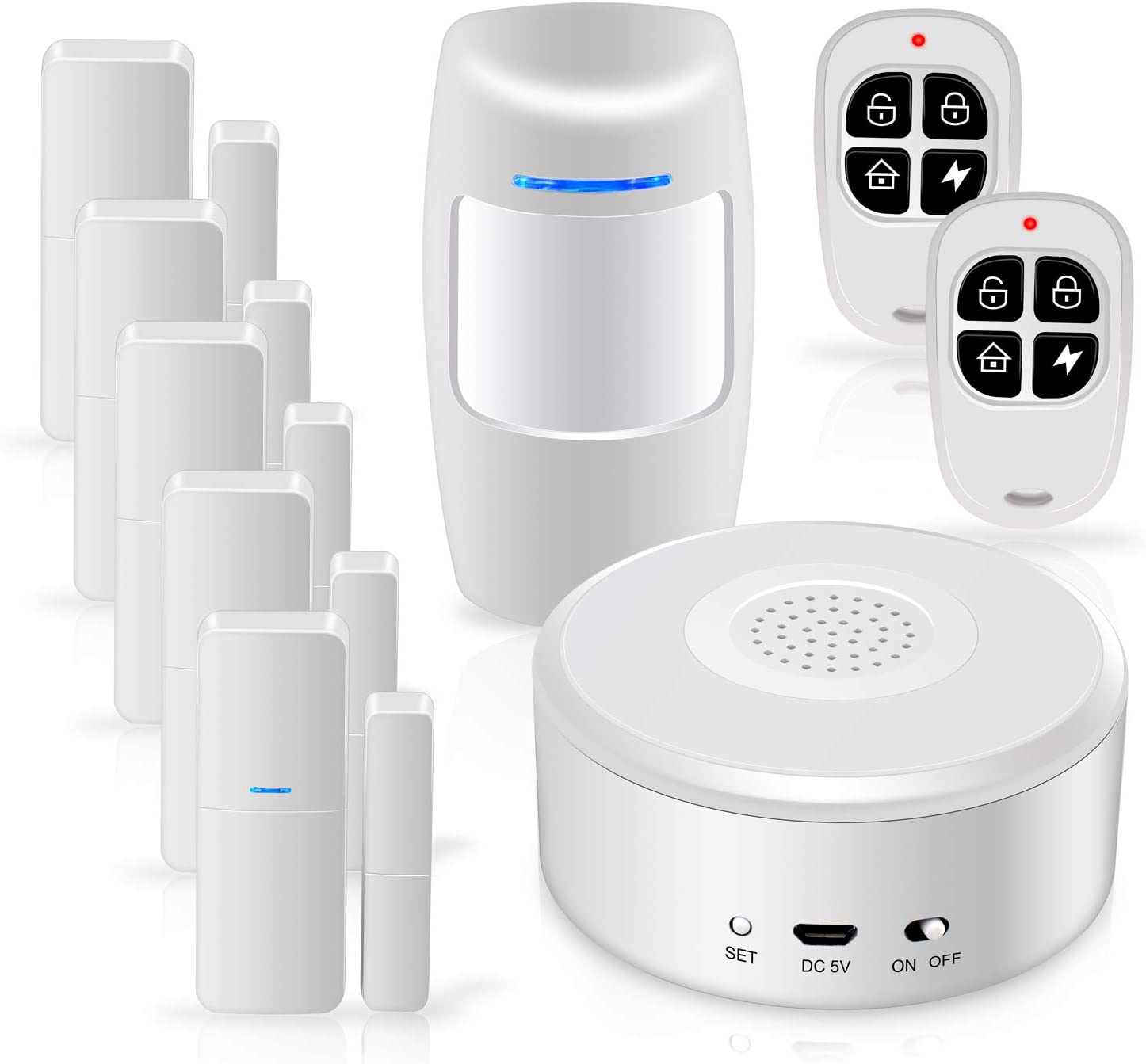 Zegoal WiFi Security System