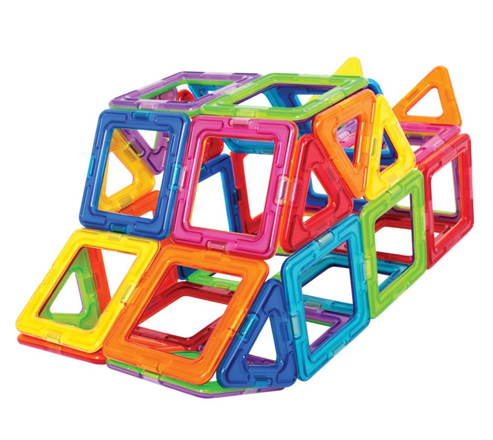 Magformers Basic Set (62-Pieces)  Magnetic Building Blocks, Educational Magnetic Tiles, Magnetic Building STEM Toy by Magformers (Image #5)