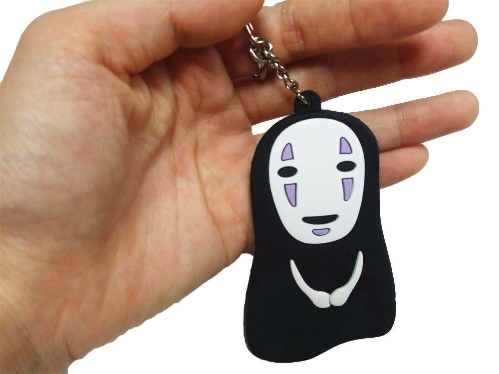 CellDesigns Japanese Anime Spirited Away No Face/Faceless Kaonashi PVC Keychain (H)