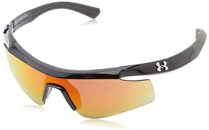 f200614fcf0 Under Armour Dynamo  quot Youth quot  Shiny Black with Charcoal Gray Frame