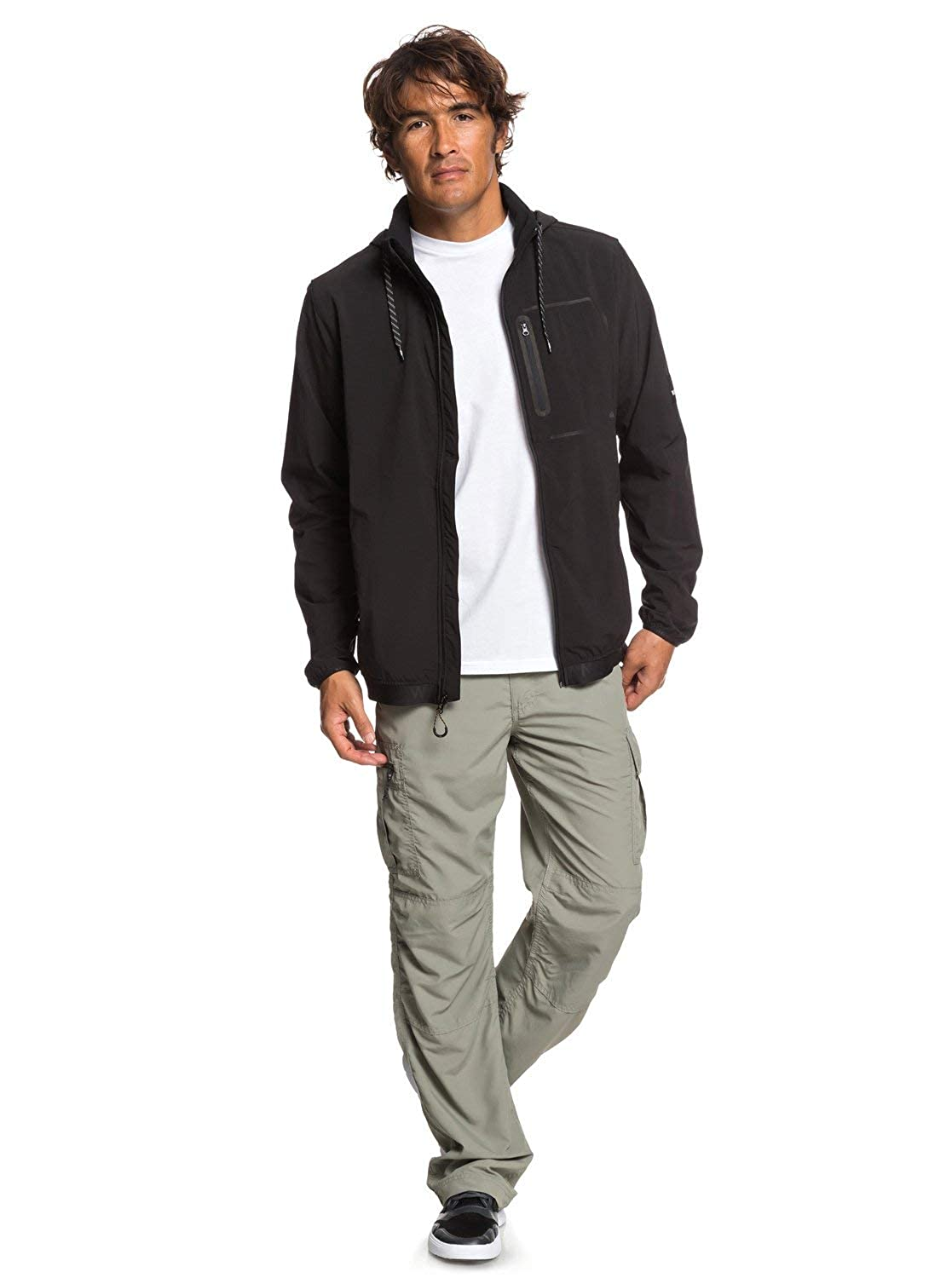 Amazon.com: Quiksilver Paddle 3 - Chaqueta para hombre: Clothing