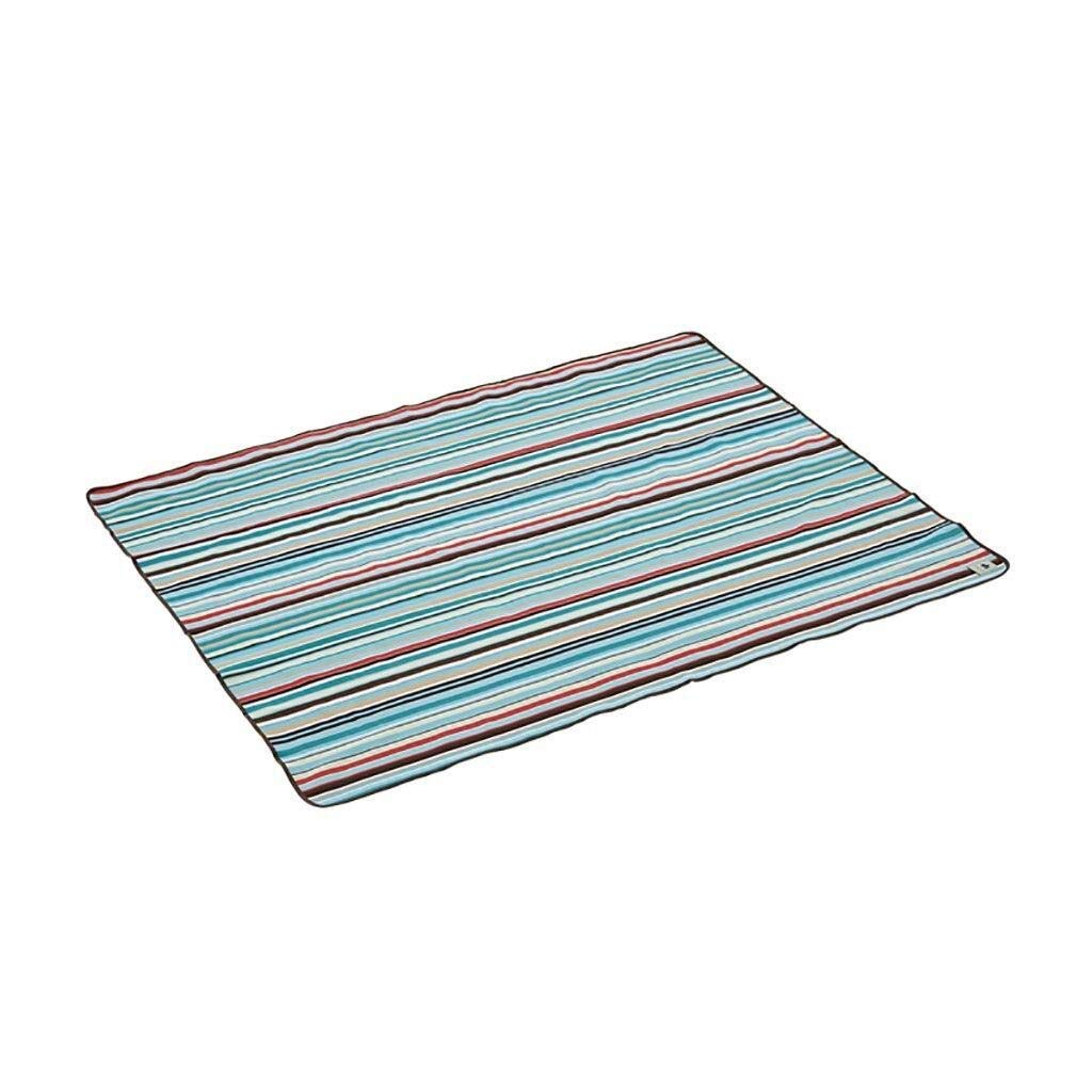 ZKKWLL Picnic Blanket Picnic Blanket Tent Rug Carrying Hand Strap and Pocket Waterproof Backing Portable Collapsible Outdoor Rug Beach mat (Color : A) by ZKKWLL