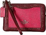 COACH Women's Color Block Corner Zip Bag