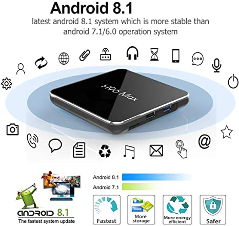 Android 8.1 TV Box H96 MAX X2 4GB DDR4 Ram 32GB ROM EstgoSZ Smart 4K TV Box Amlogic S905X2 Support HDMI 2.1 H265 VP9 Video Decoding Dual WiFi 2.4G 5.0G100M Ethernet BT4.0