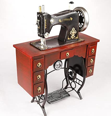 Amazon GLG Retro Nostalgic Iron Vertical Pedal Sewing Machine Inspiration What Is A Vertical Sewing Machine