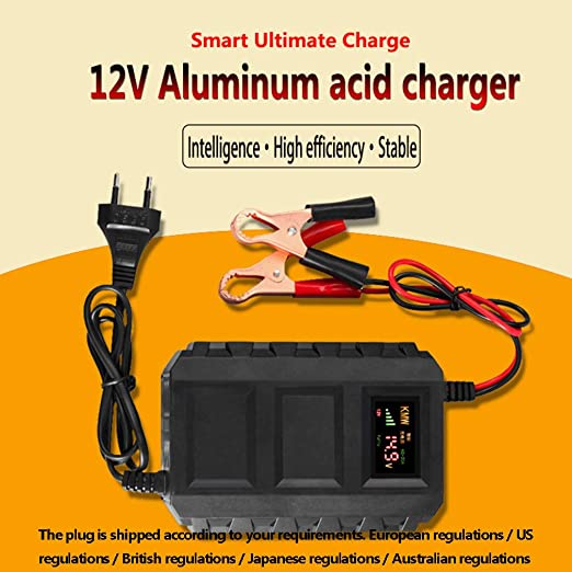 HWUKONG Smart Battery Chargeur Allume Cigare Batterie