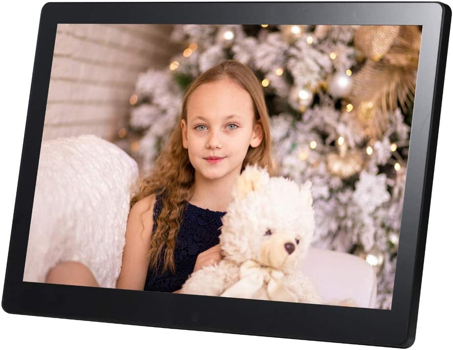 17 inch LCD Screen 1440x900 High Resolution Support Calendar//Clock//MP3//Photos//Video Player with Remote Control TONGTONG Digital Photo Frame