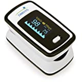 Innovo Deluxe Fingertip Pulse Oximeter with Plethysmograph and Perfusion Index (Color: Deluxe Off White)