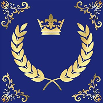 7x10 FT Toga Party Vinyl Photography Background Backdrops,Hellenic Column and Laurel Wreath Heraldic Symbol with Olive Branch Graphic Background Newborn Baby Portrait Photo Studio Photobooth Props