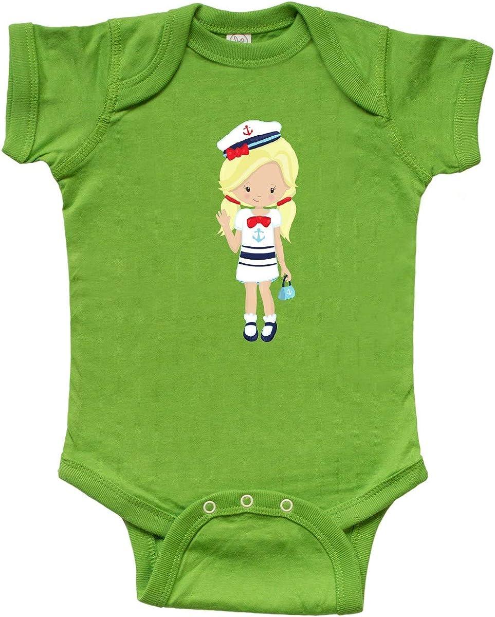 Skipper Blonde Hair Toddler T-Shirt Boat Captain inktastic Cute Girl