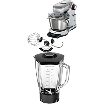 Amazon De Bosch Mum9ax5s00 Optimum Kuchenmaschine Platinum Silber