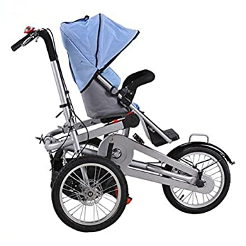 Mother's Bicycle Baby Stroller 16 inch Pushchair 3 Wheel Bike ...