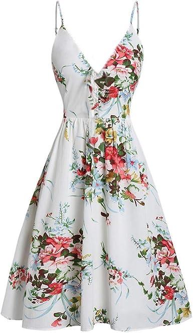 Cinnamou Robe Femme Ete Longue Femme Ete Boheme Fleur