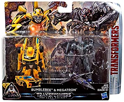 Transformers The Last Knight Legion 3 inch Action Figures - Bumblebee and Megatron