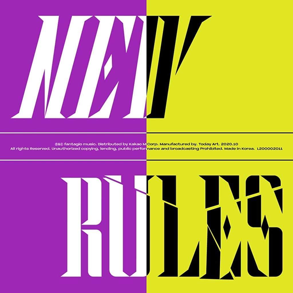 Fantagio Music Weki Meki - New Rules (4th Mini Album) Album+Folded Poster+Extra Photocards Set (Break+Take ver. Set)