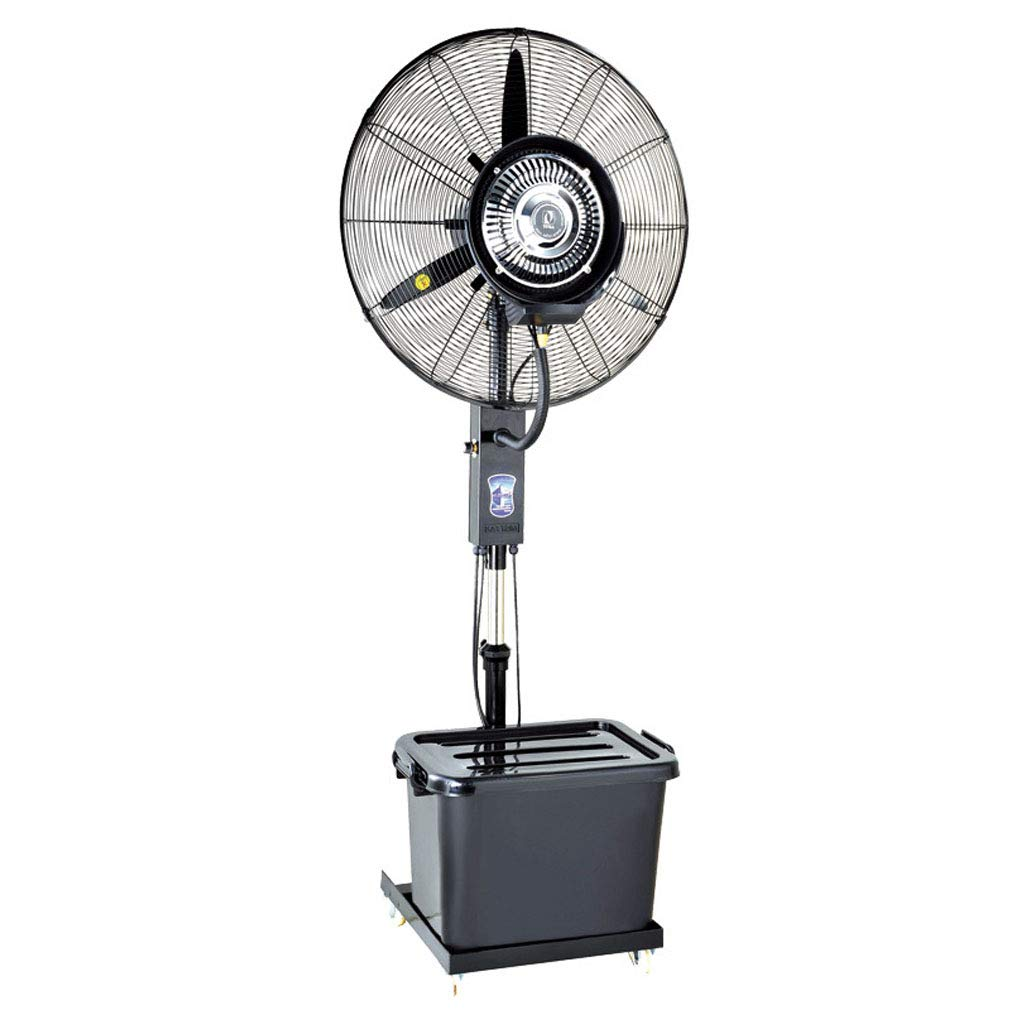 Standing Fan Industrial Spray Fan Water Mist Humidification Cooling Water Cooling Commercial Evaporative Air Cooler - A Fxing/B Liftable by LLZ-Fan