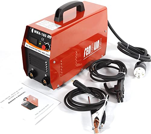 BoTaiDaHong Electric Welder ARC MMA DC Inverter Welder 110V 20-180A AMP IGBT Electric Welding Machine Mini Light Weight MMA Electric Welder 20-180A Inverter