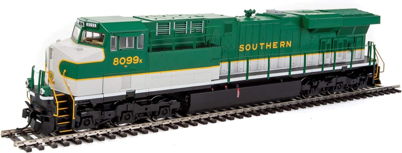 Walthers 910-20183 - GE ES44AC w/DCC ESU Sound NS Southern 8099 - HO Scale