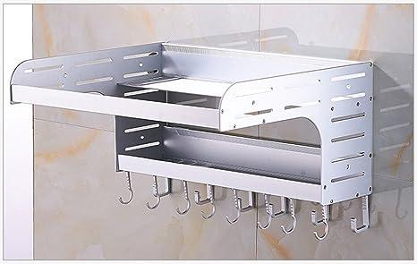 Global- Aluminio Estantes para cocina Estantes Estante Estante ...