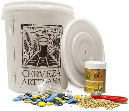 Cerveza Artesana Kit Economic para Hacer 20 litros: Amazon.es: Hogar
