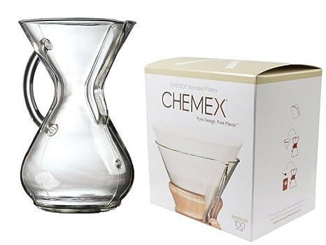 Amazon.com: Chemex Bundle – 2 Artículos: Vidrio mango ...