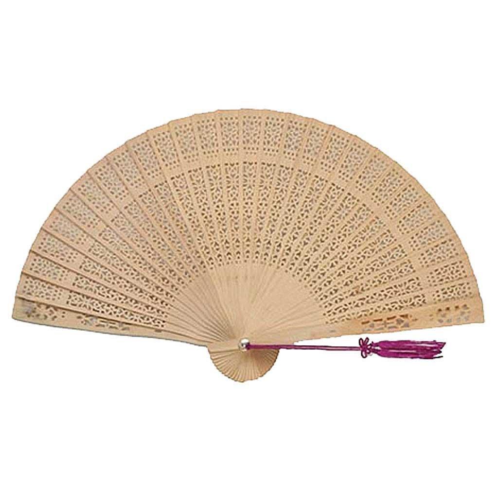 Ndier Cinese Regali/Ventagli Mano: Legno di Sandalo Cinese Fan