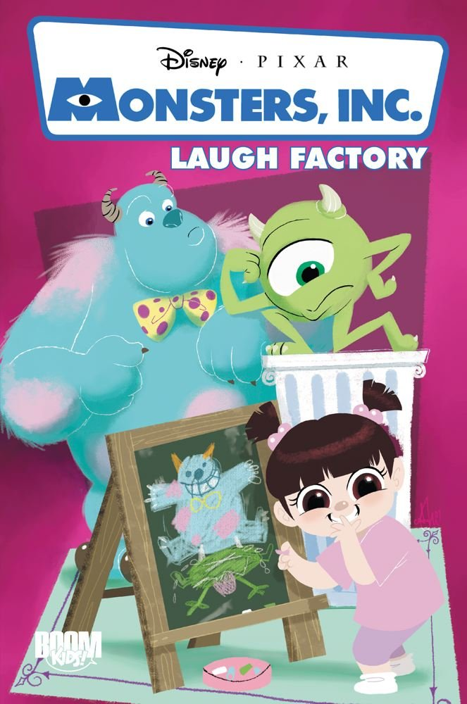 Read Online Monsters, Inc: Laugh Factory (Disney Pixar (Quality)) PDF