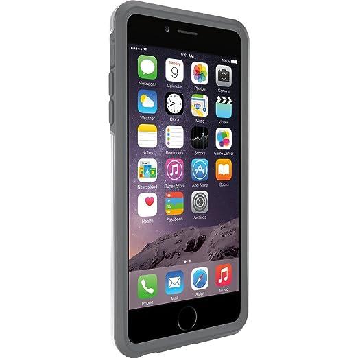 53 opinioni per OtterBox 77-50560 Symmetry Custodia per Apple iPhone 6 Plus, Ghiacciaio/Grigio