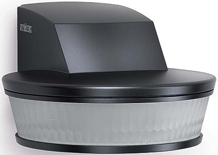 STEINEL sensIQ S KNX Sensor infrarrojo pasivo (PIR) Pared Negro - Sensor de movimiento