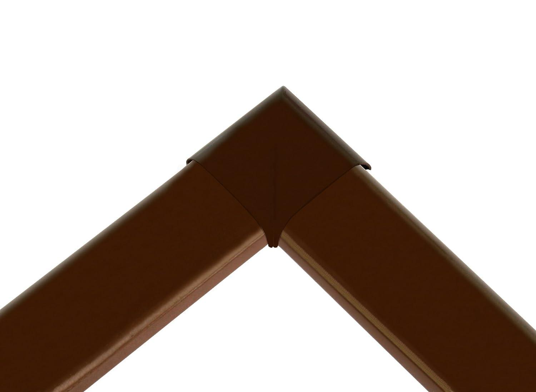 100 x 120 cm 3er SET Insektenschutz Fliegengitter Fenster Alurahmen Basic wei/ß braun oder anthrazit