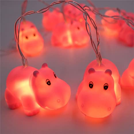 Mignon Veilleuse LED Animaux Guirlandes Lumineues   batterie Lampe