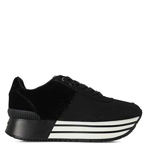 Calvin Klein - Zapatillas para mujer negro negro negro Size: 41: Amazon.es: Zapatos y complementos