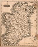 School Atlas | 1822 Ireland | Historic Antique Vintage Map Reprint
