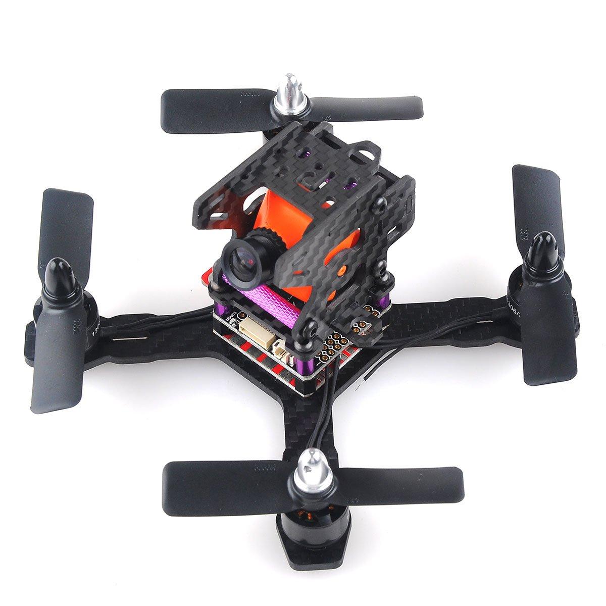Amazon.com: Crazepony X150 FPV Racing Drone Mini Quadcopter Carbon ...