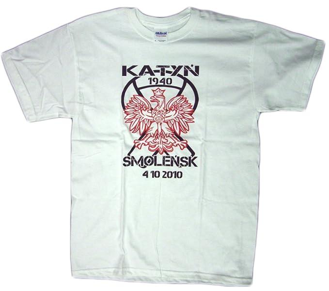 Amazon com: Katyn Smolensk 1940 Polish T-Shirt Historic