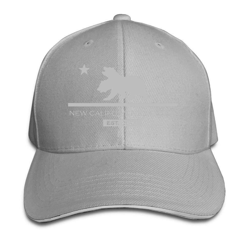 Hoswee Unisexo Gorras de béisbol/Sombrero, New California Republic ...