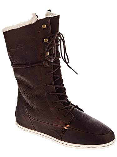 Ladies Brown Leather Boots Uk