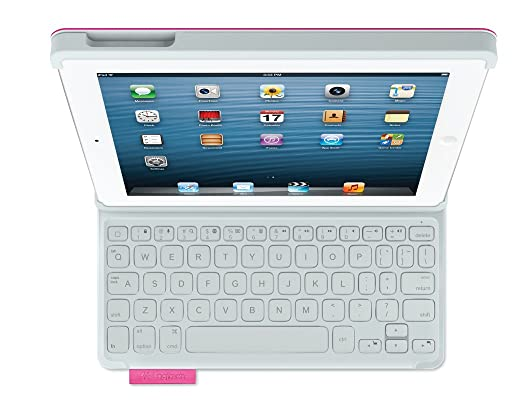 Logitech Keyboard Folio for iPad 2/3/4 - Fantasy Pink