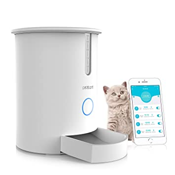 dash model small automatic feeder dogs cats pf pet and for pd