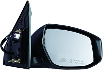 DEPO 315-5423R3EBH Nissan Sentra Passenger Side Heated Power Mirror with Turn Signal Lamp