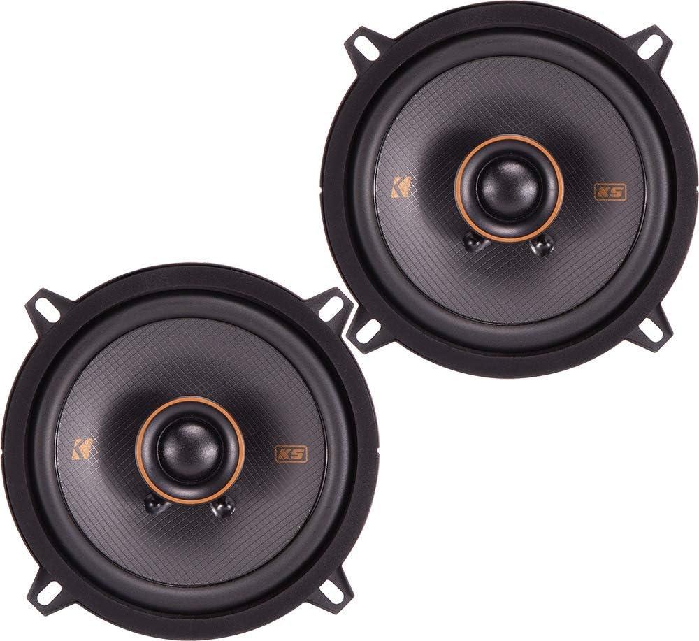 """Kicker 47KSC504 Car Audio 5 1/4"""" Coaxial 300W Peak Full Range Speakers KSC504"""