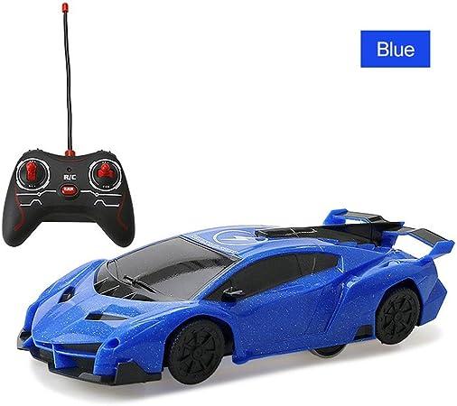 JBMY RC Arrampicata su Parete for Auto Soffitto antigravità Climber RC Car Mini Racer Telecomando Giocattoli cingolati for Bambini Ragazzi (Color :
